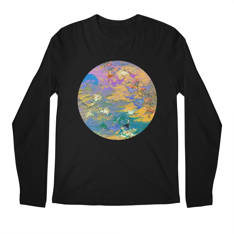 Music to breathe - Circle Men's Regular Longsleeve T-Shirt by Boutique