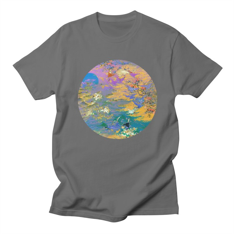 Music to breathe - Circle Men's T-Shirt by Boutique