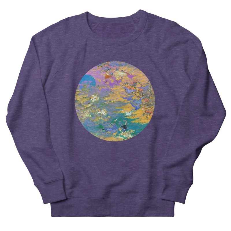 Music to breathe - Circle Women's French Terry Sweatshirt by Boutique