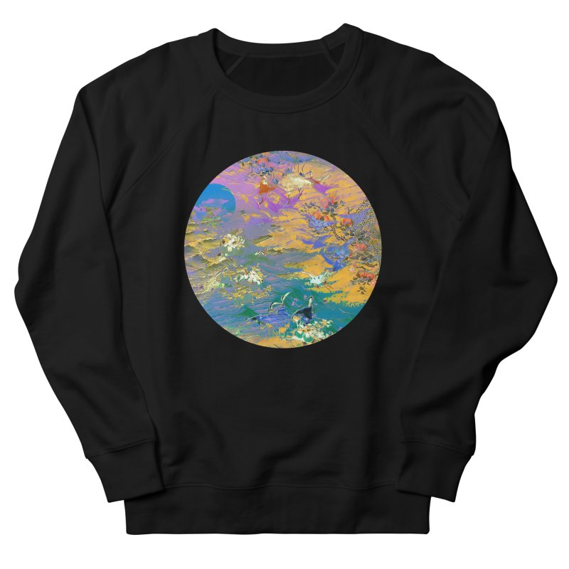 Music to breathe - Circle Men's French Terry Sweatshirt by Boutique