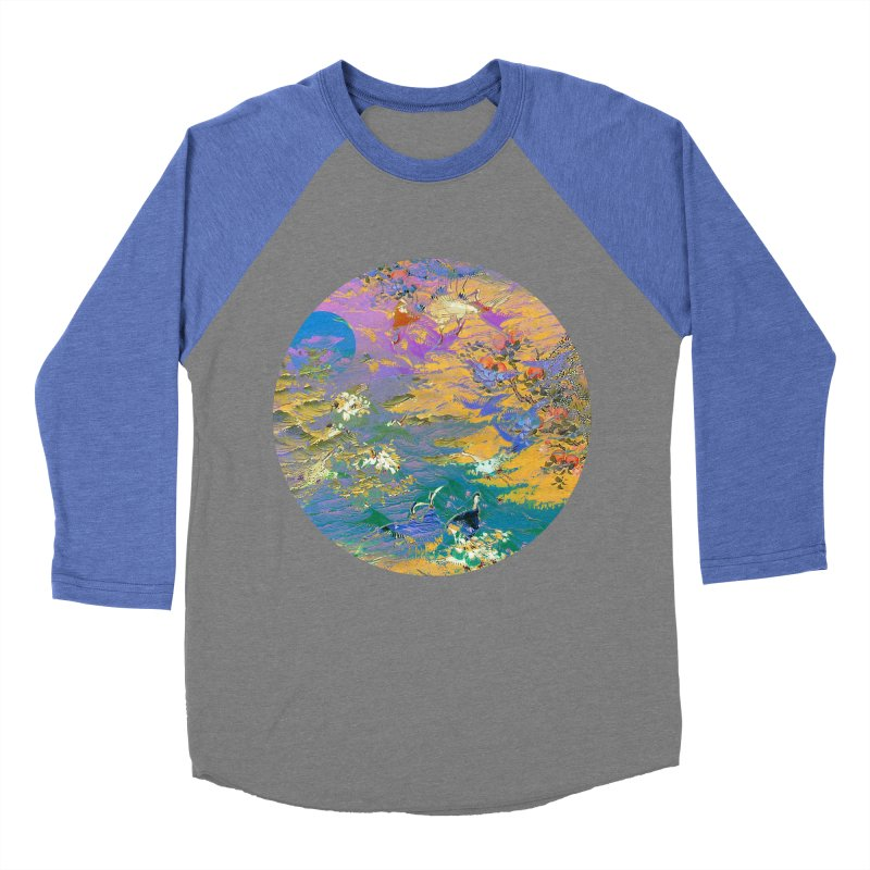 Music to breathe - Circle Men's Baseball Triblend Longsleeve T-Shirt by Boutique