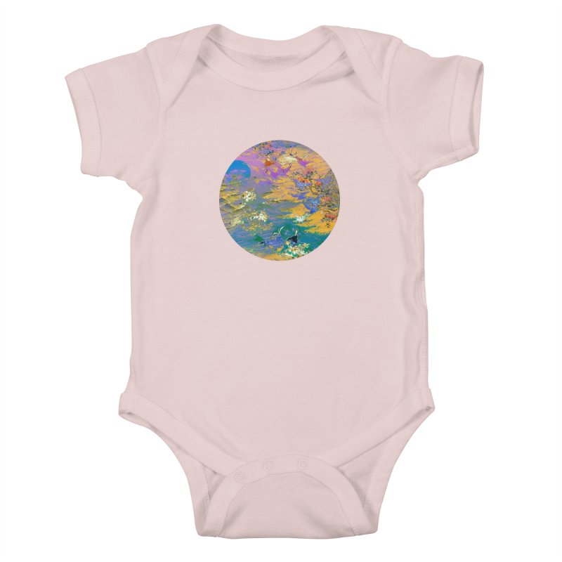 Music to breathe - Circle Kids Baby Bodysuit by Boutique