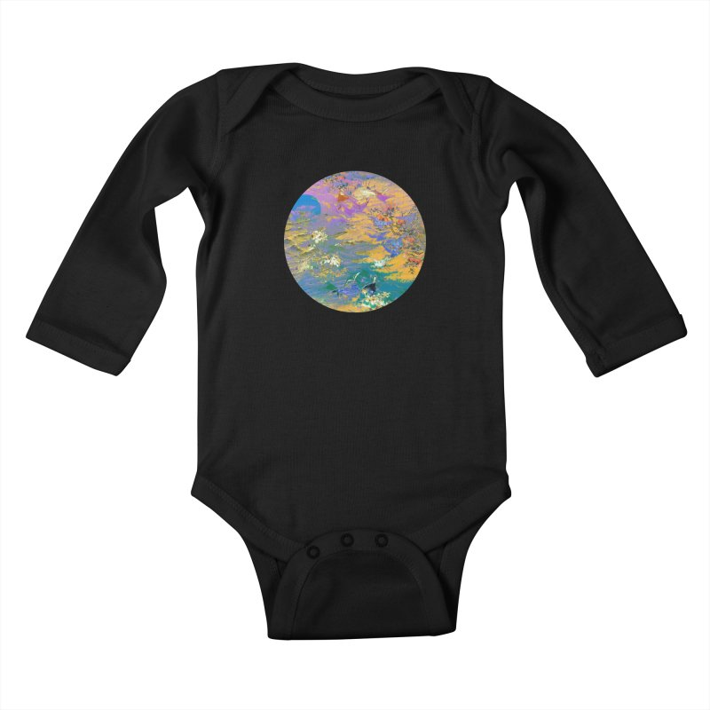 Music to breathe - Circle Kids Baby Longsleeve Bodysuit by Boutique