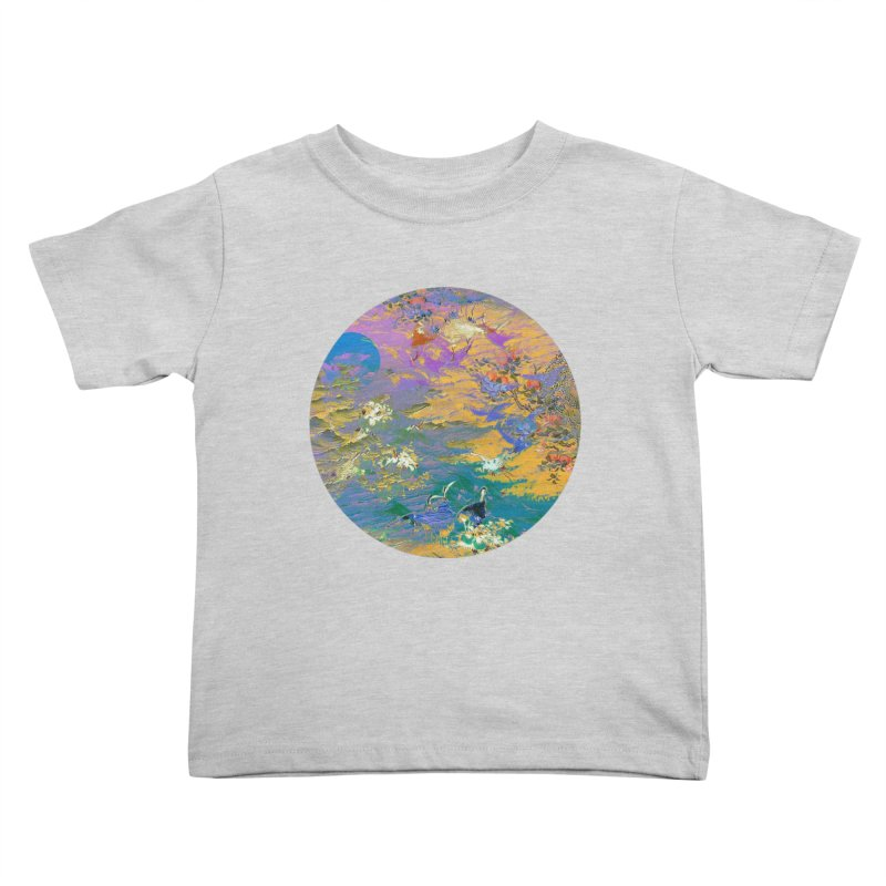 Music to breathe - Circle Kids Toddler T-Shirt by Boutique