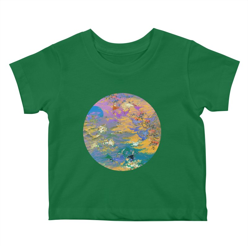 Music to breathe - Circle Kids Baby T-Shirt by Boutique