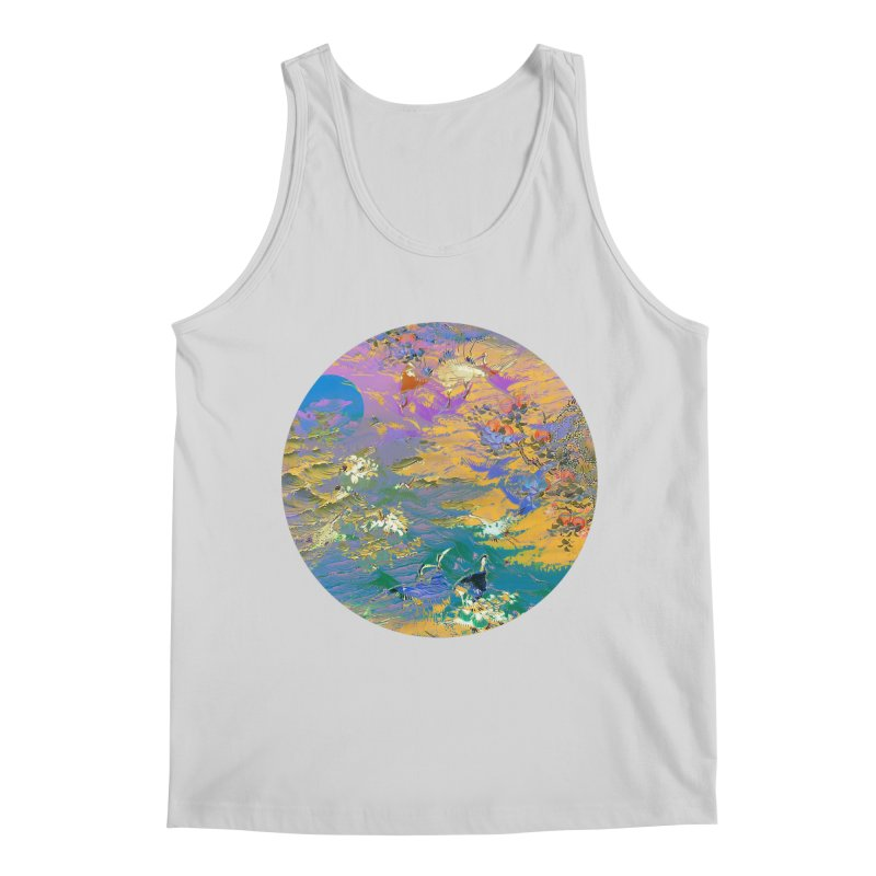 Music to breathe - Circle Men's Regular Tank by Boutique