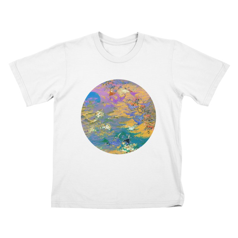 Music to breathe - Circle Kids T-Shirt by Boutique