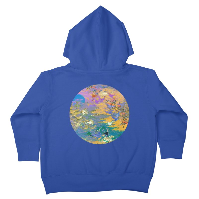 Music to breathe - Circle Kids Toddler Zip-Up Hoody by Boutique
