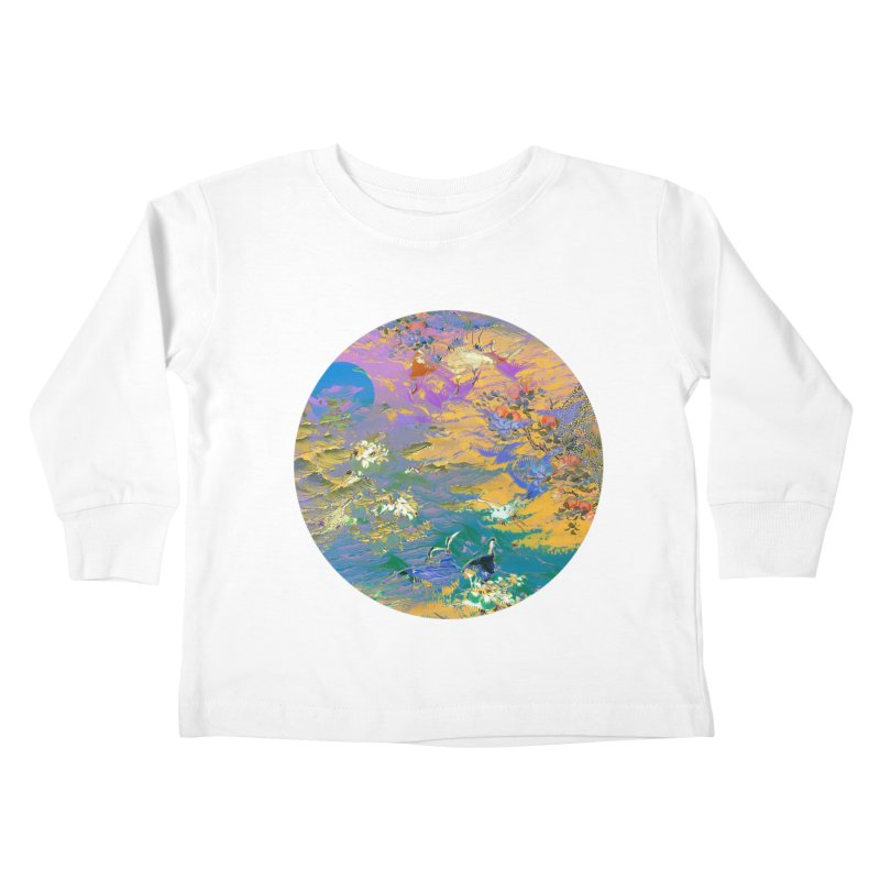 Music to breathe - Circle Kids Toddler Longsleeve T-Shirt by Boutique