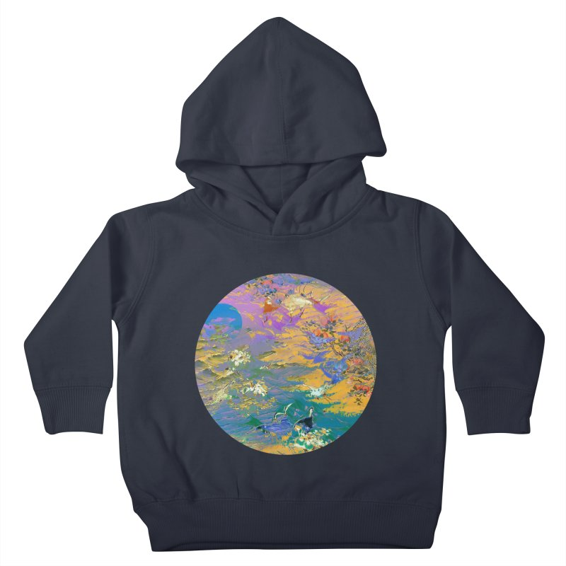 Music to breathe - Circle Kids Toddler Pullover Hoody by Boutique