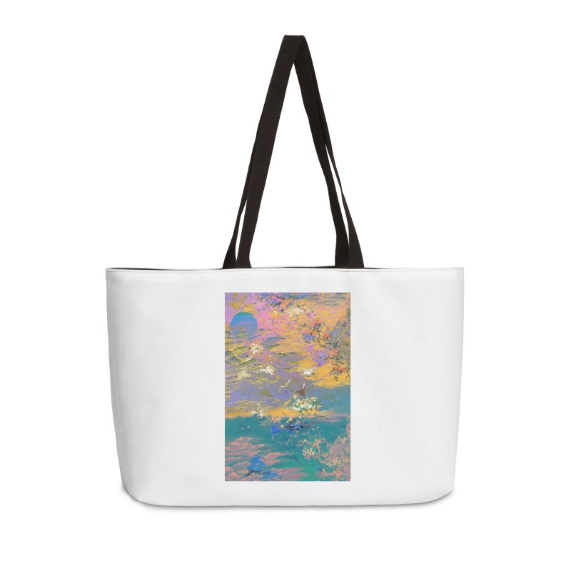 Music to breathe - Rectangle Accessories Weekender Bag Bag by Boutique