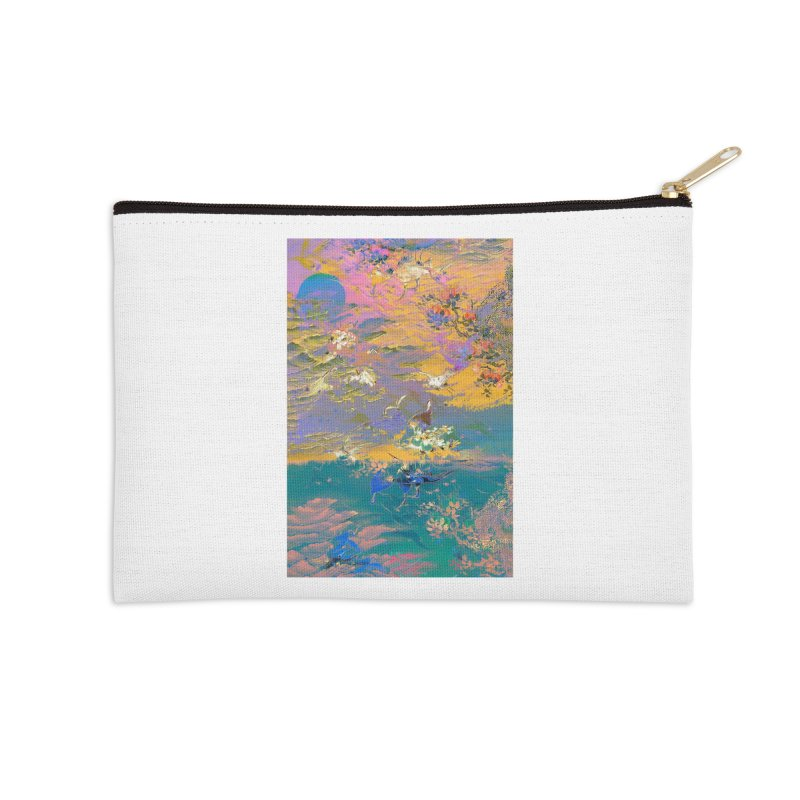 Music to breathe - Rectangle Accessories Zip Pouch by Boutique