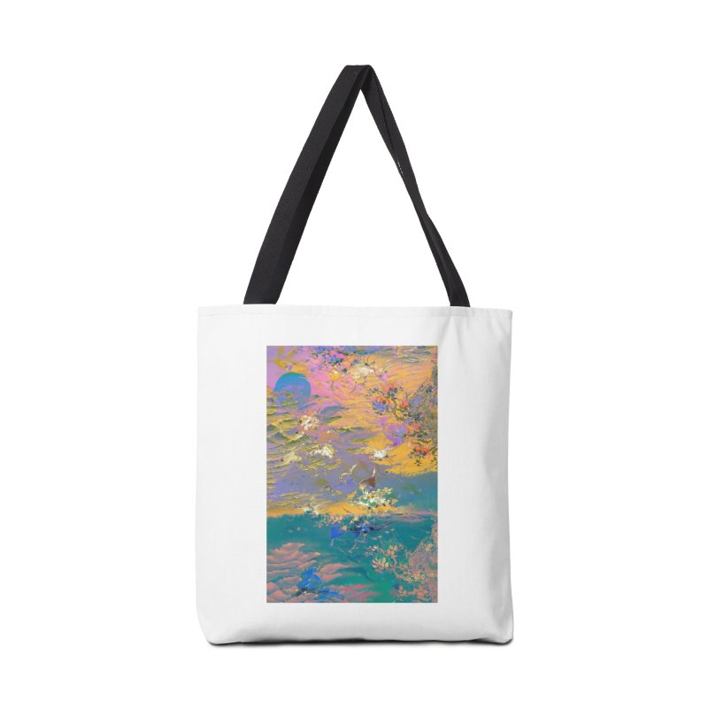 Music to breathe - Rectangle Accessories Tote Bag Bag by Boutique
