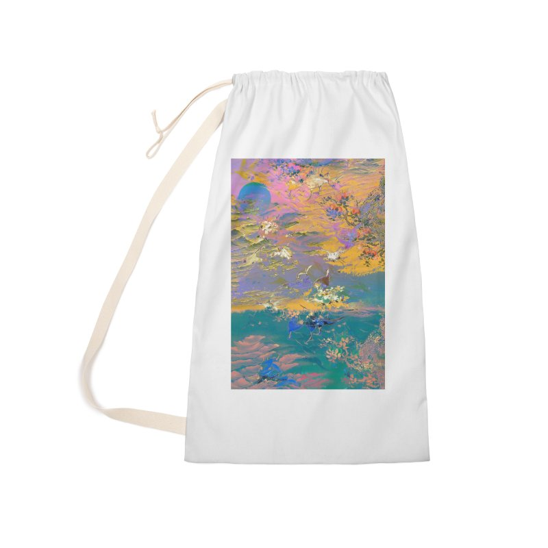 Music to breathe - Rectangle Accessories Laundry Bag Bag by Boutique