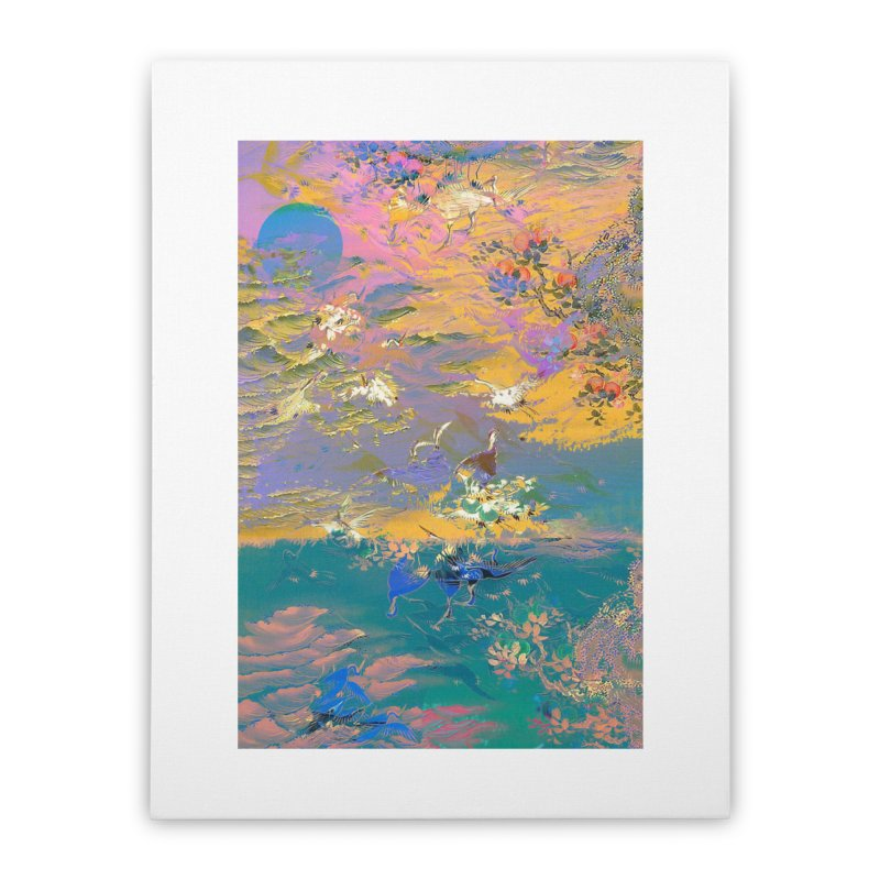 Music to breathe - Rectangle Home Stretched Canvas by Boutique