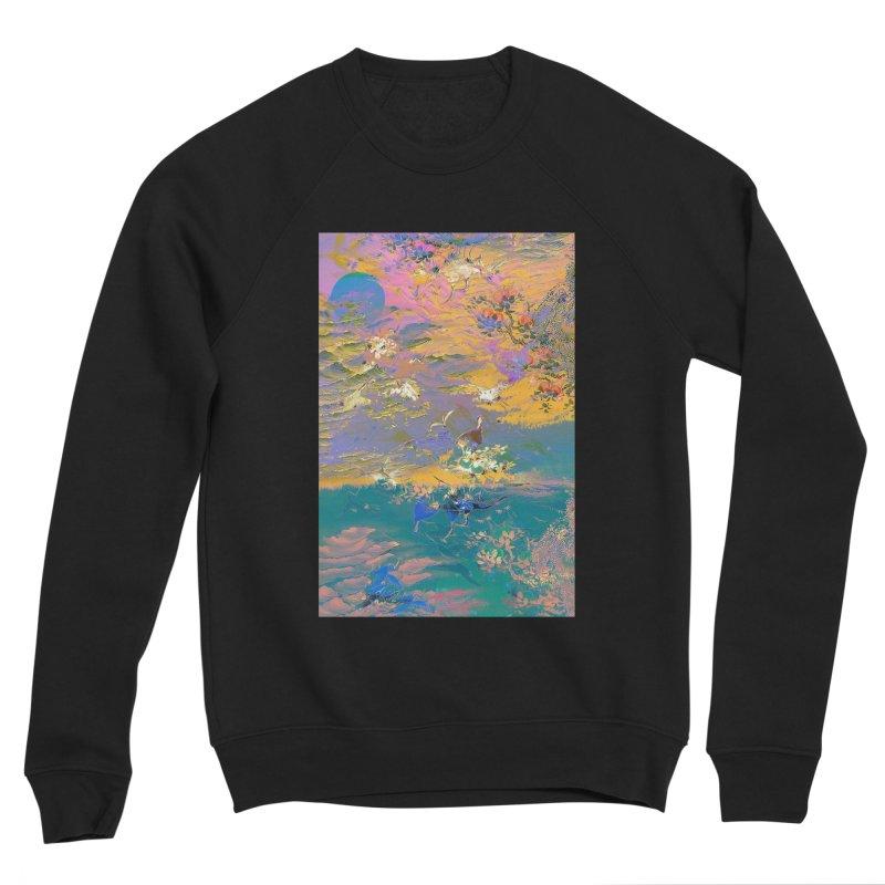 Music to breathe - Rectangle Men's Sponge Fleece Sweatshirt by Boutique