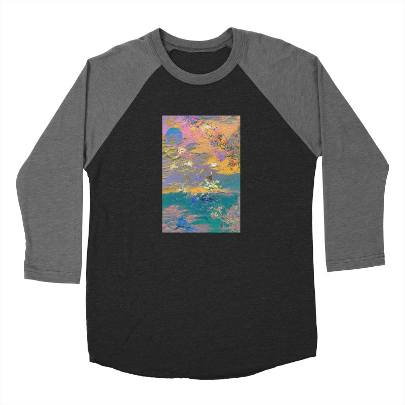 Music to breathe - Rectangle Men's Baseball Triblend Longsleeve T-Shirt by Boutique