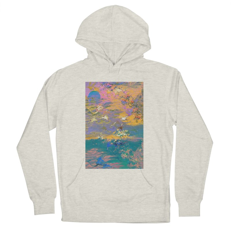 Music to breathe - Rectangle Men's French Terry Pullover Hoody by Boutique