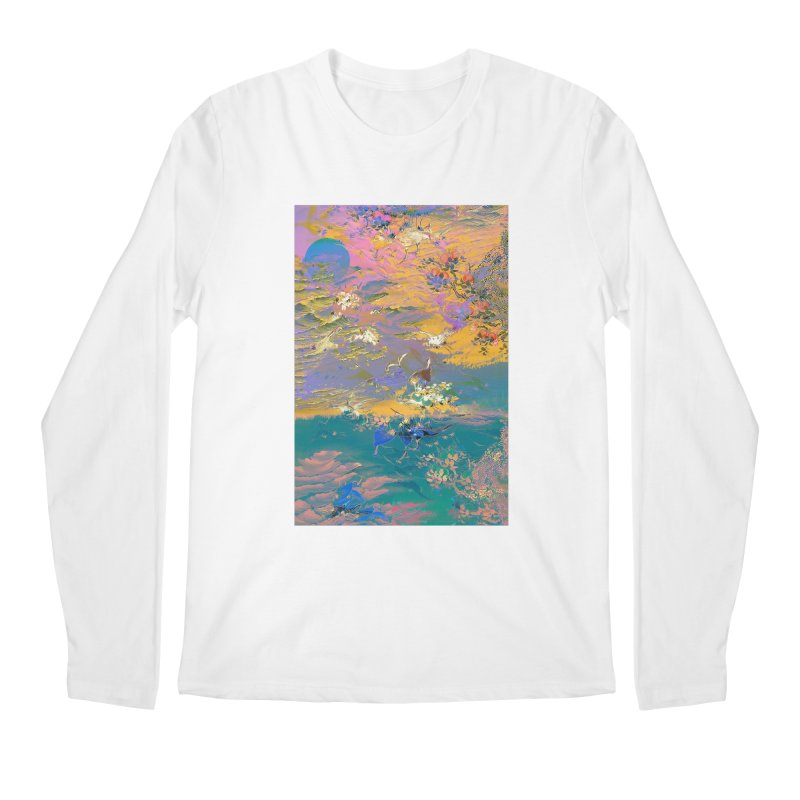 Music to breathe - Rectangle Men's Regular Longsleeve T-Shirt by Boutique
