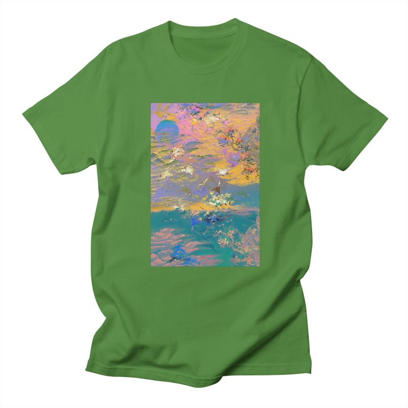 Music to breathe - Rectangle Men's Regular T-Shirt by Boutique