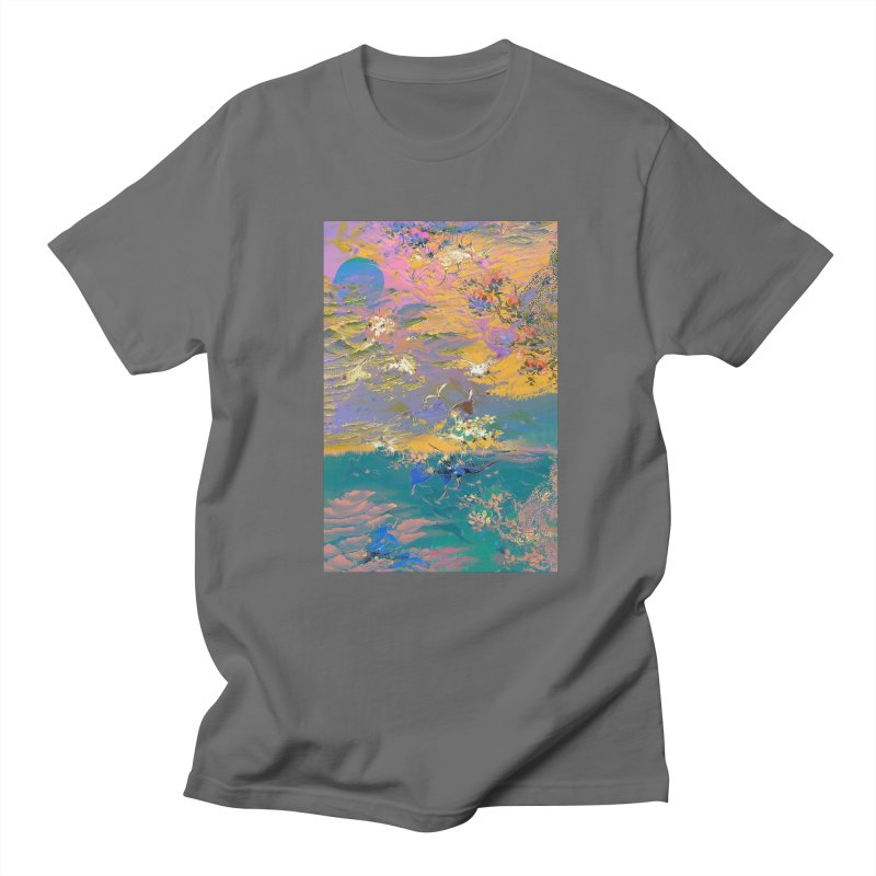 Music to breathe - Rectangle Men's T-Shirt by Boutique