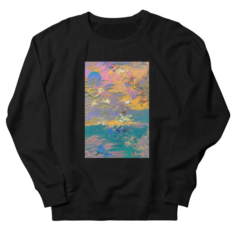 Music to breathe - Rectangle Men's French Terry Sweatshirt by Boutique