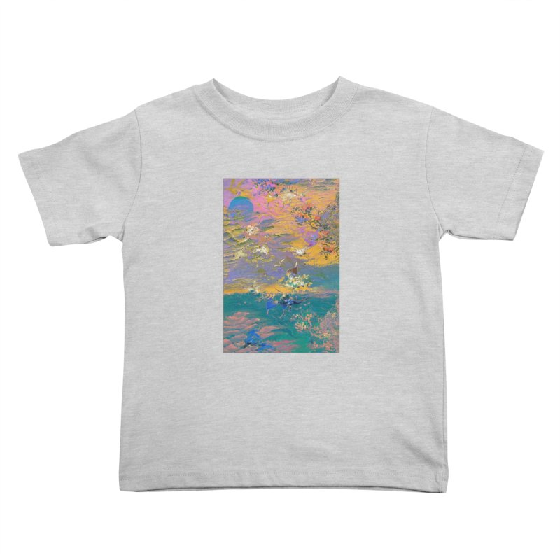 Music to breathe - Rectangle Kids Toddler T-Shirt by Boutique