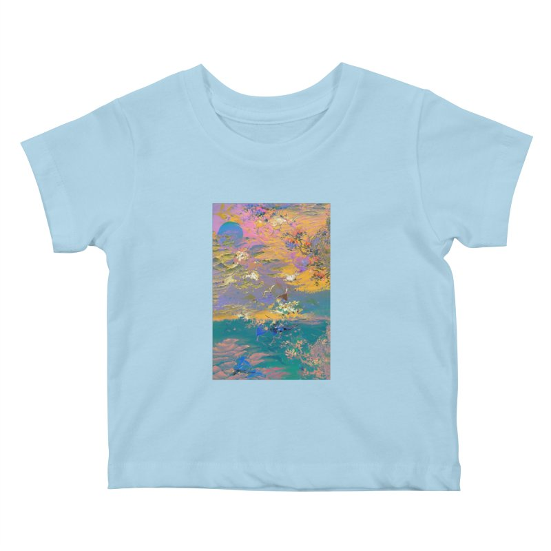 Music to breathe - Rectangle Kids Baby T-Shirt by Boutique