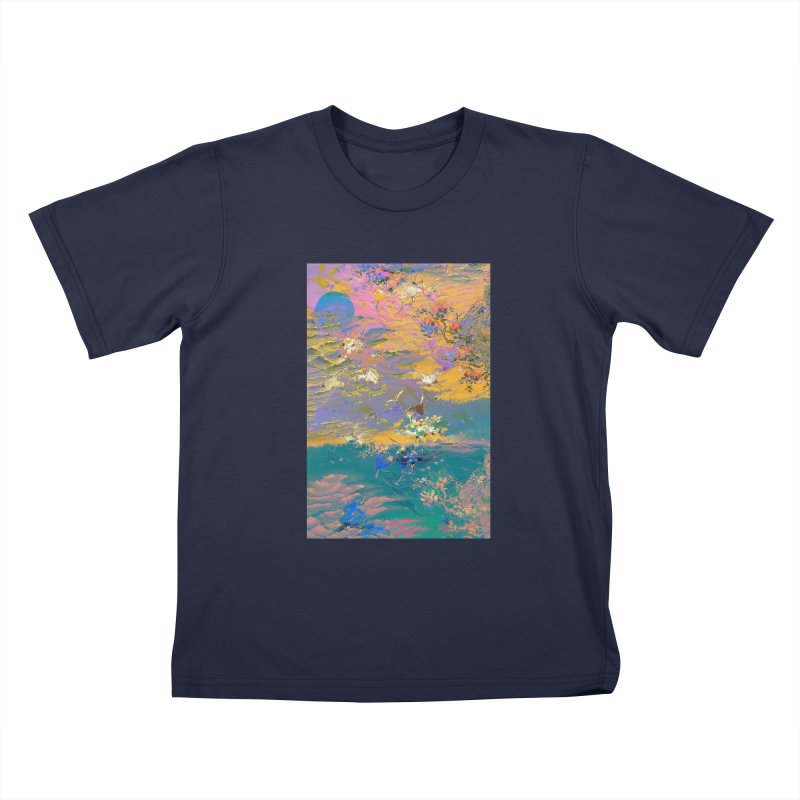 Music to breathe - Rectangle Kids T-Shirt by Boutique
