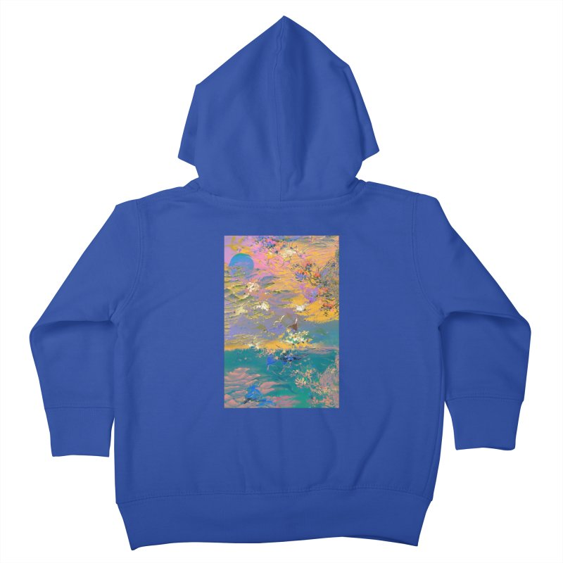Music to breathe - Rectangle Kids Toddler Zip-Up Hoody by Boutique