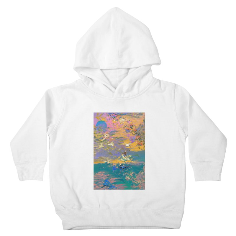 Music to breathe - Rectangle Kids Toddler Pullover Hoody by Boutique