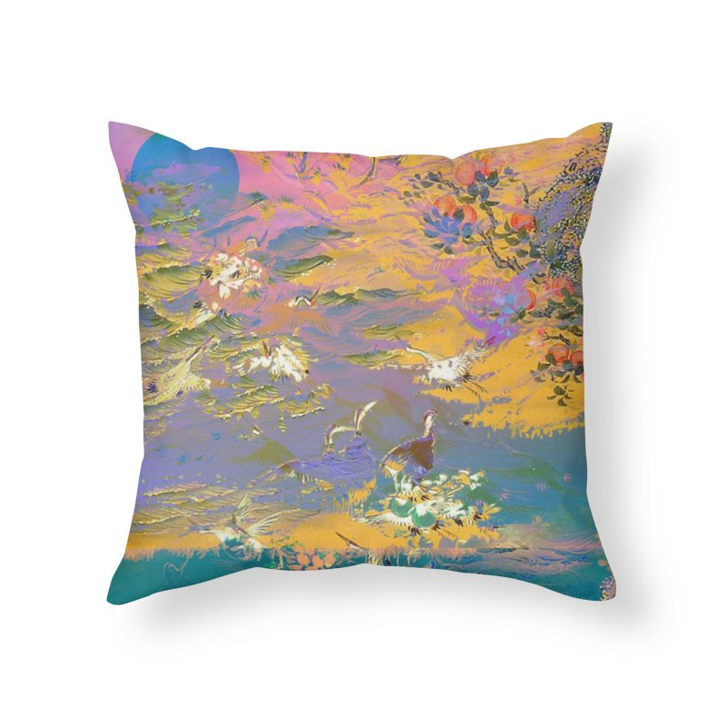 Music to breathe - Rectangle Home Throw Pillow by Boutique