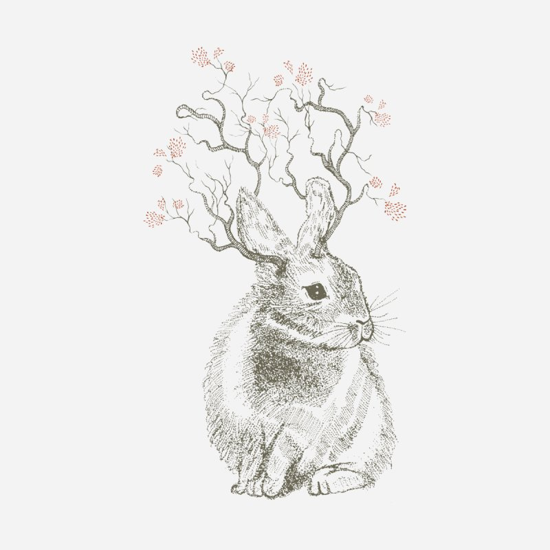 Forest Bunny None  by rosebudstudio's Artist Shop