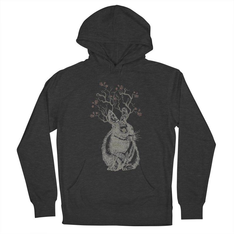 Forest Bunny Women's Pullover Hoody by rosebudstudio's Artist Shop