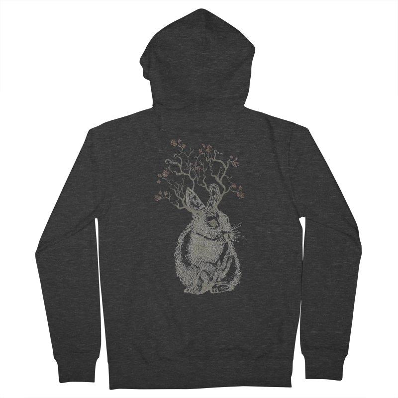 Forest Bunny Women's Zip-Up Hoody by rosebudstudio's Artist Shop