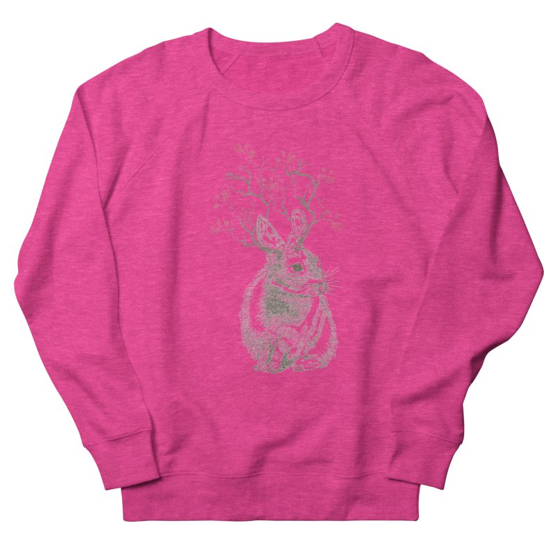 Forest Bunny Women's Sweatshirt by rosebudstudio's Artist Shop