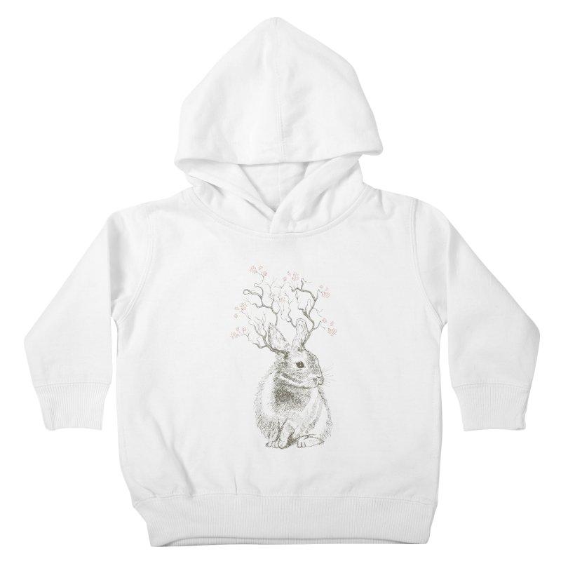 Forest Bunny Kids Toddler Pullover Hoody by rosebudstudio's Artist Shop