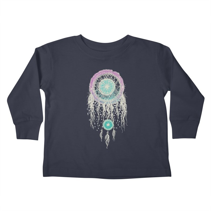Chasing Dreams Kids Toddler Longsleeve T-Shirt by rosebudstudio's Artist Shop