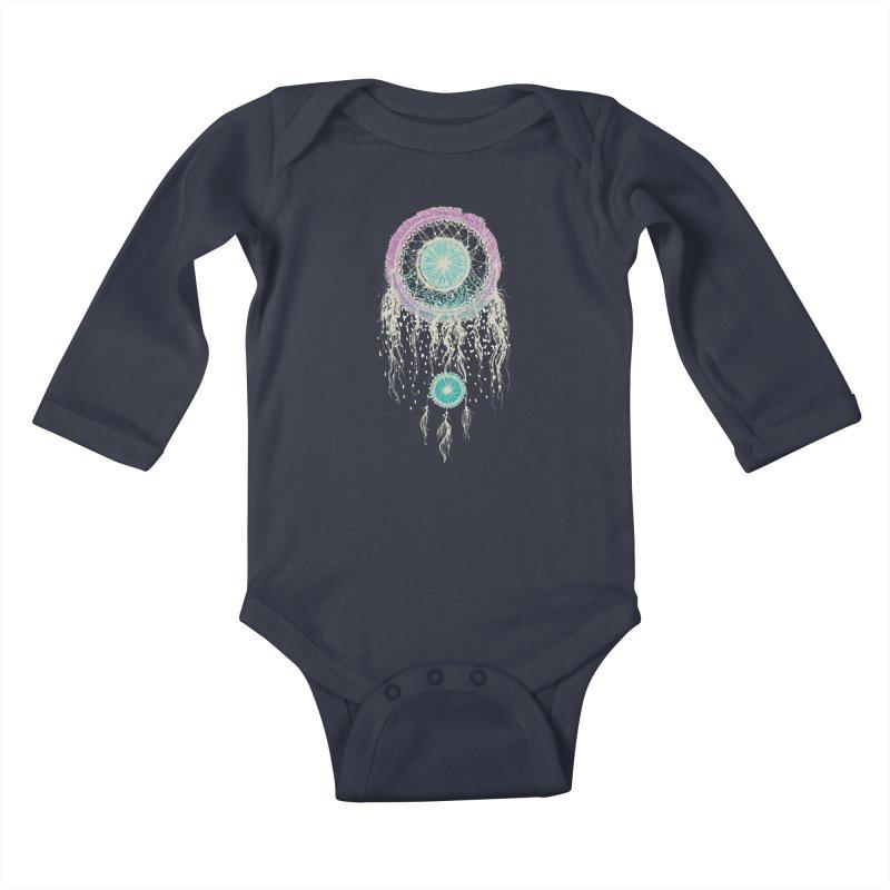 Chasing Dreams Kids Baby Longsleeve Bodysuit by rosebudstudio's Artist Shop