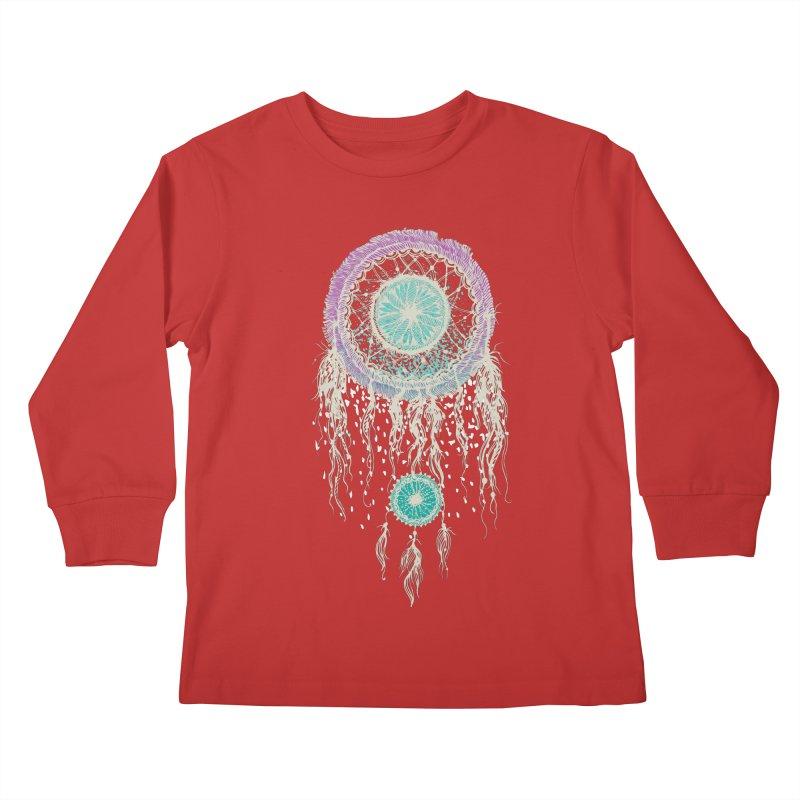 Chasing Dreams Kids Longsleeve T-Shirt by rosebudstudio's Artist Shop