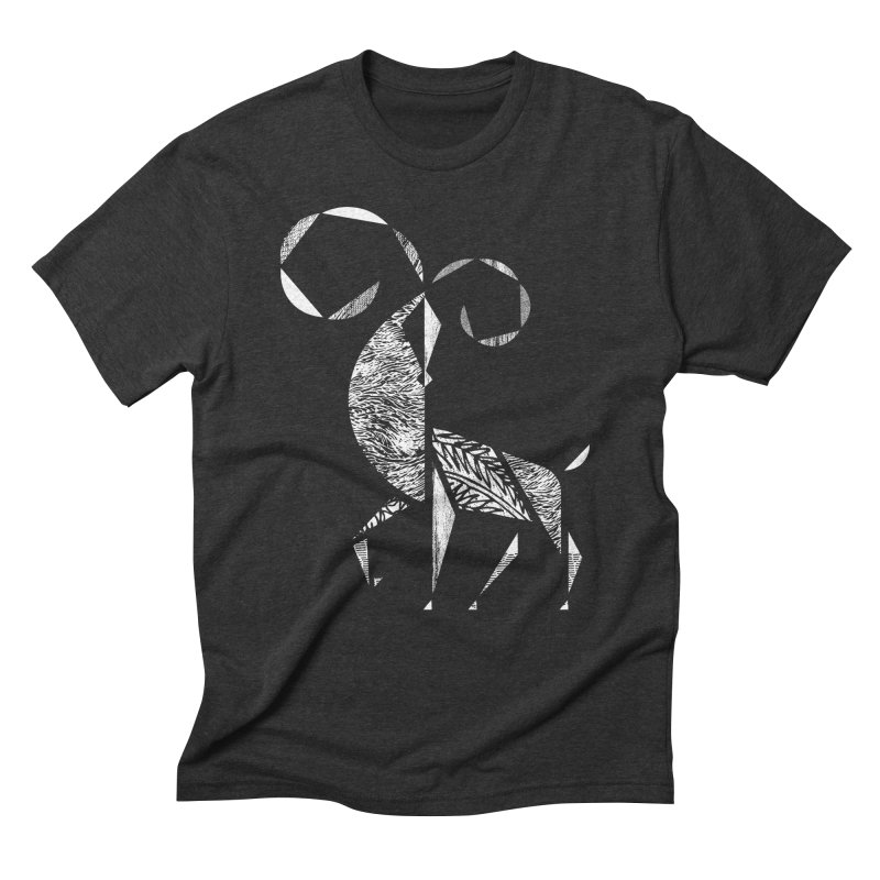 Aries Men's Triblend T-shirt by rossbruggink's Artist Shop