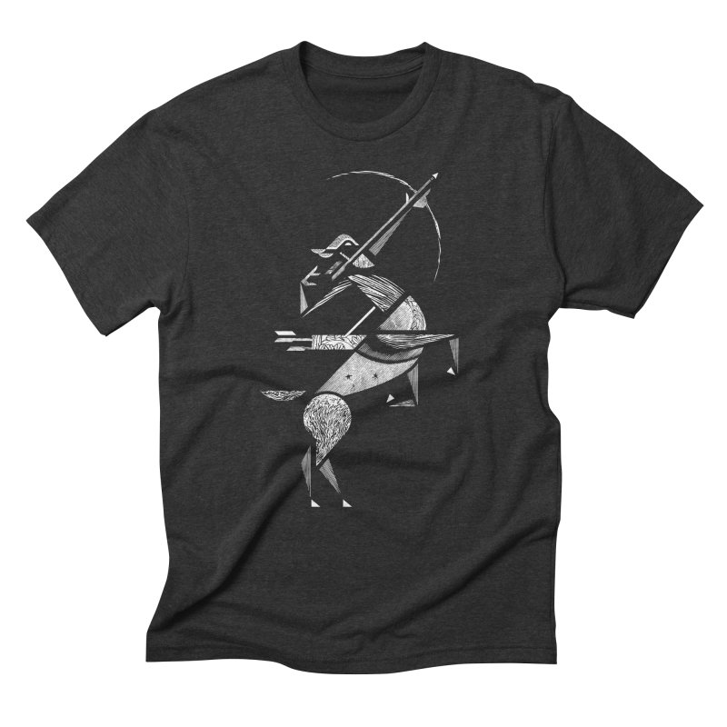 Sagittarius Men's Triblend T-shirt by rossbruggink's Artist Shop