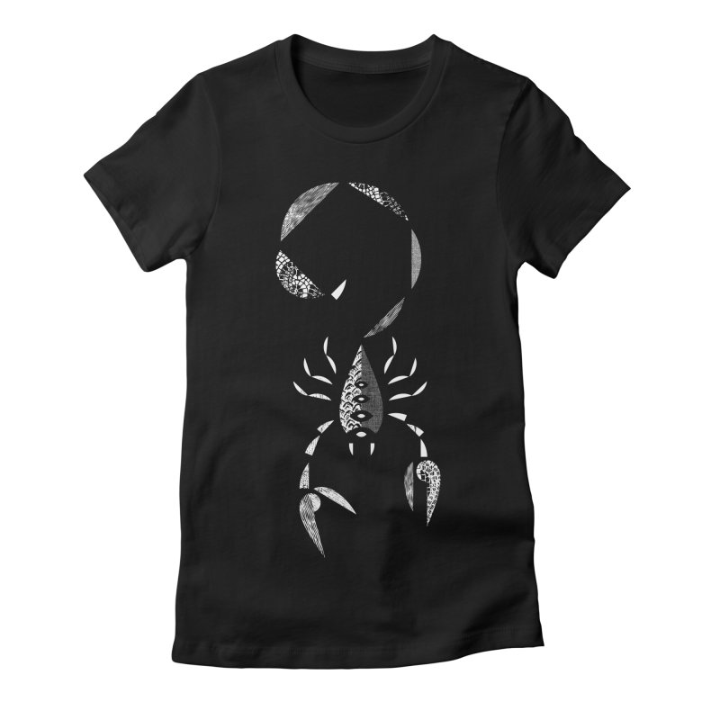 Scorpio Women's Fitted T-Shirt by rossbruggink's Artist Shop