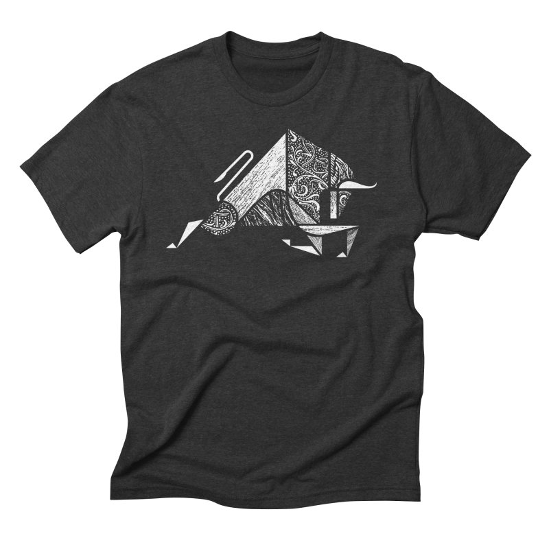 Taurus Men's Triblend T-shirt by rossbruggink's Artist Shop