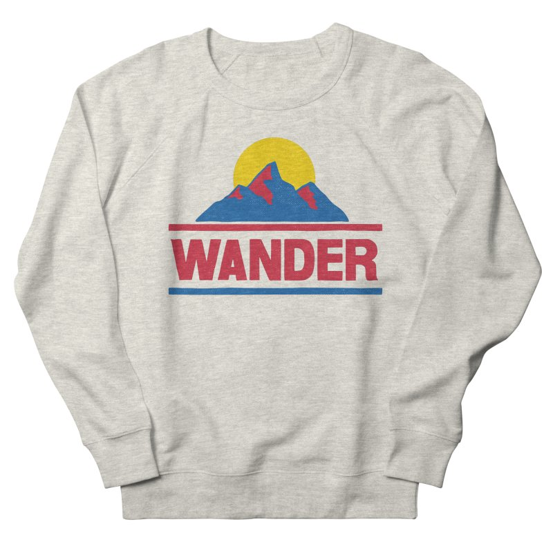 Wander Men's Sweatshirt by Ross Zietz