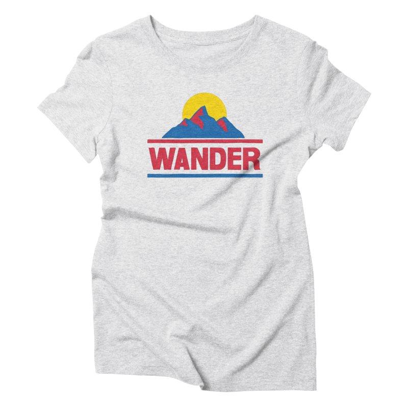 Wander Women's T-Shirt by Ross Zietz