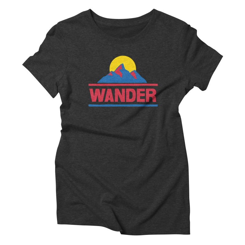 Wander Women's Triblend T-Shirt by Ross Zietz