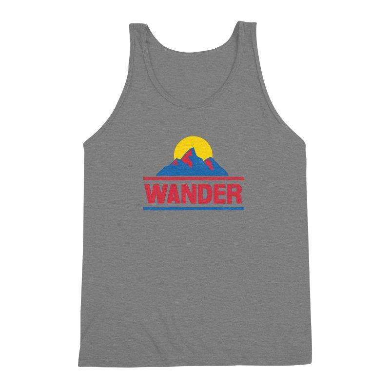 Wander Men's Triblend Tank by Ross Zietz