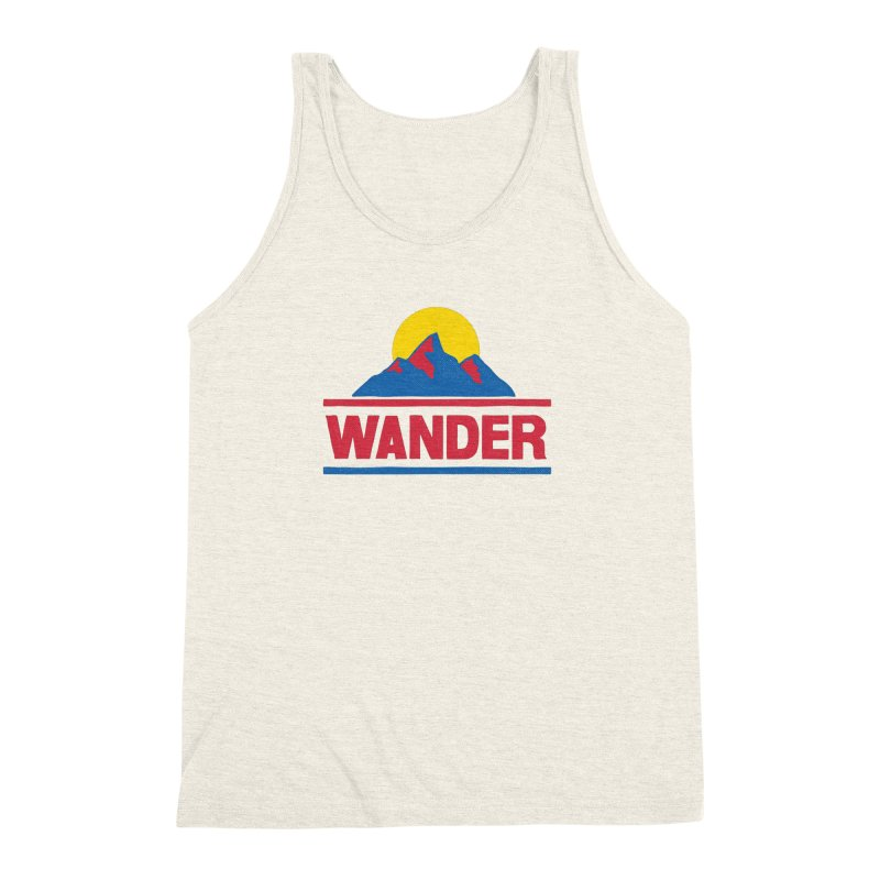 Wander Men's Triblend Tank by Ross Zietz