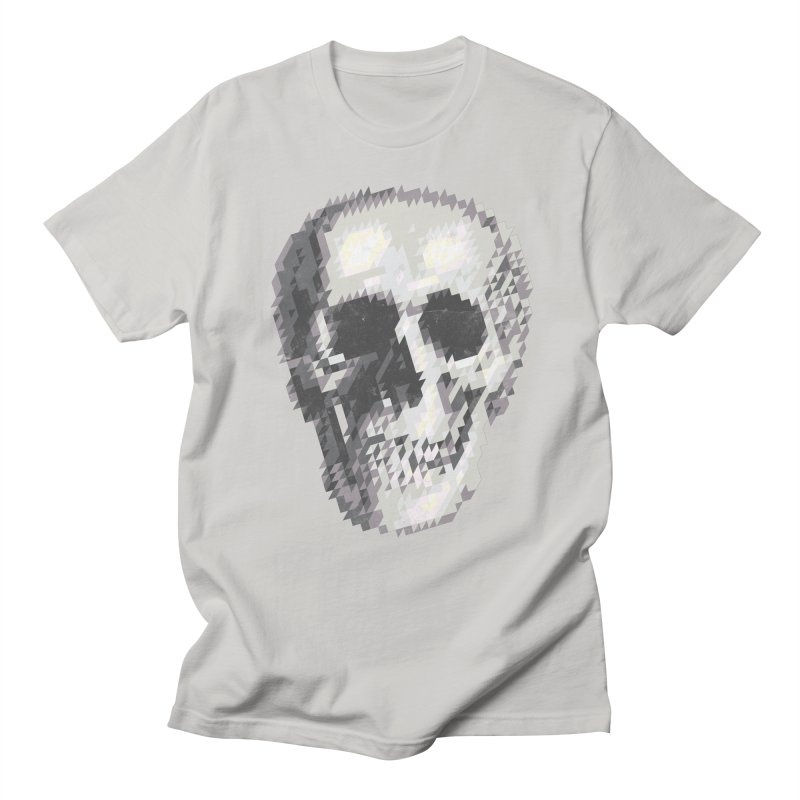 Tri-Skull Men's T-shirt by Ross Zietz